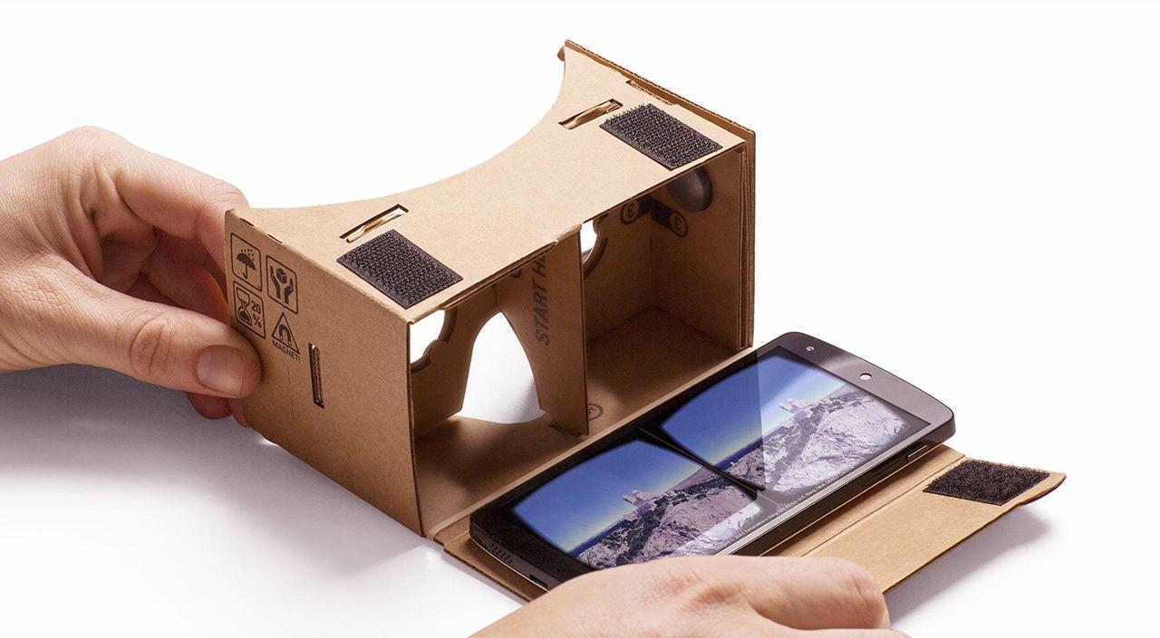 """Googles VR-Selbstbaukit """"Cardboard"""""""